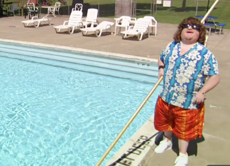 Mason Reese as our life guard ... need one say more?!