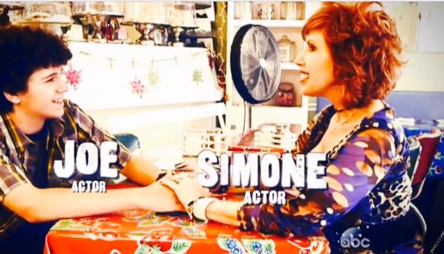 Simone and Joe WWYD Name Shot